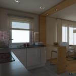 Norvég ház alap konyha 1
